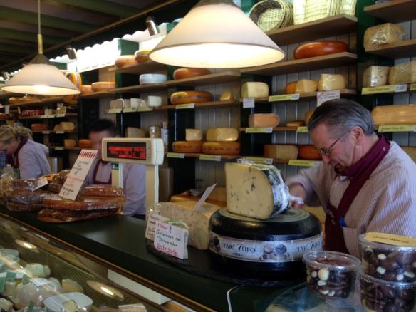 Chees shop De Osdorper Amsterdam