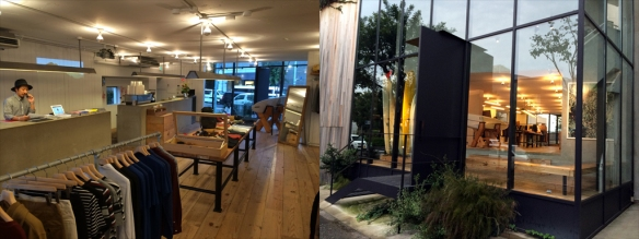 Surfshop and coffee bar: Saturdays