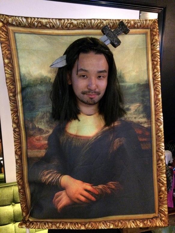 Mona Lisa Halloween Tokyo 2014
