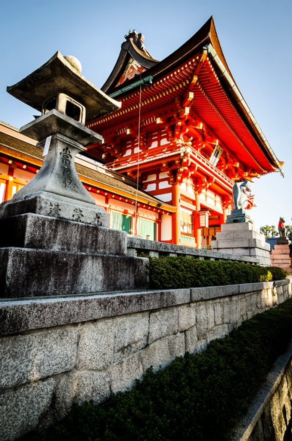 Temple at Fushimi Inari